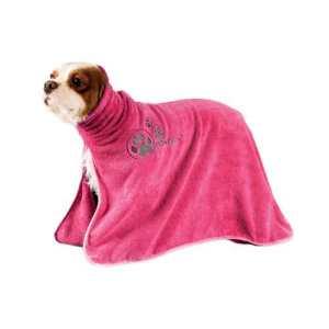 Telo da asciugatura in microfibra rosa mis. M