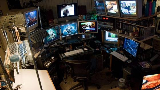 Configuração Steven Larson parece um filme de hackers