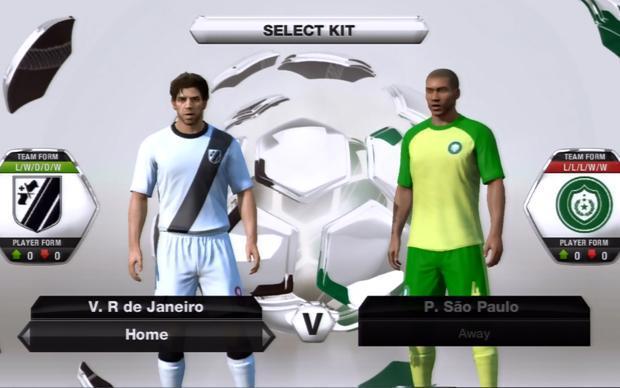 EA licenciou os clubes Palmeiras, Botafogo e Vasco para 'Fifa 13'