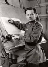 Mikhail Kalashnikov, em 1949