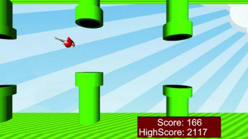 FlappyBird-Flappy Angry Bird