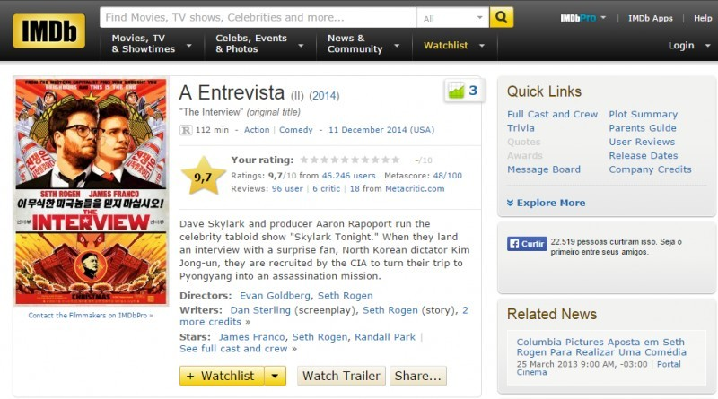 A Entrevista-IMDB