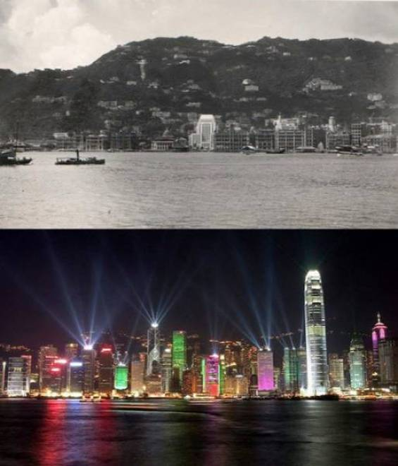 13.Hong Kong, República Popular da China 1920-2000