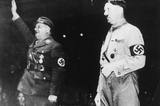 Ernst Röhm e Hitler