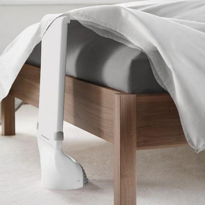 11. Este ar-condicionado para refrescar a temperatura debaixo do lençol