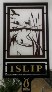 Islip Village Sign