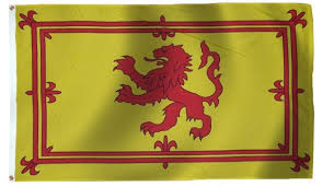 Rampant Lion real flag