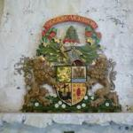 coat of arms in castle