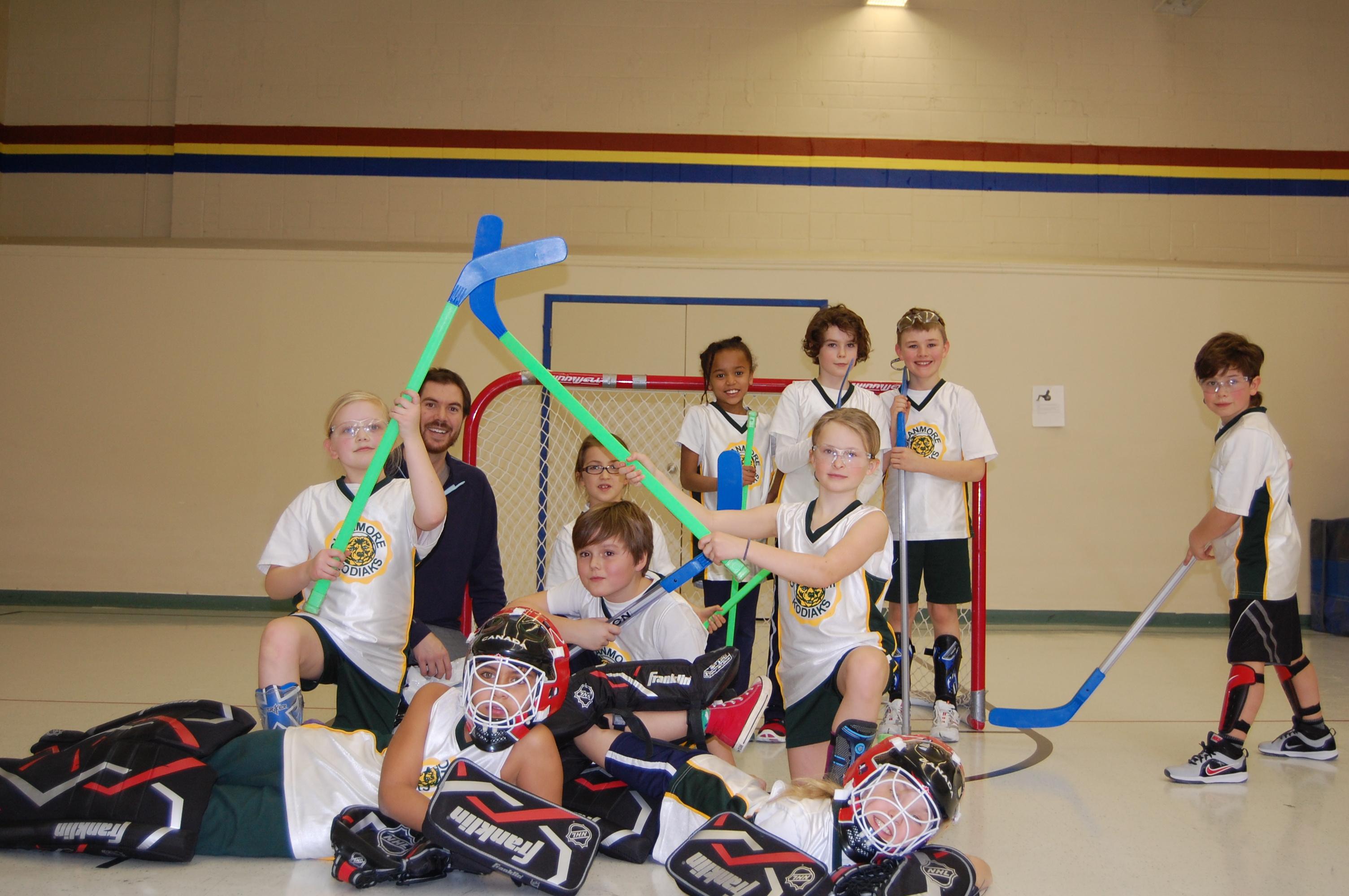 Clanmore Montessori Attends Pssa Floor Hockey Tournament