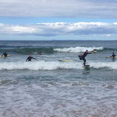 Surf Hen Party