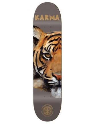 Karma Skate for the Planet Tiger Skateboard Deck 8.25″