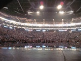 Crowd at the O2