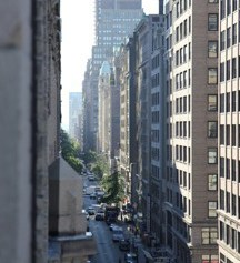 29th Street from 8 floors up