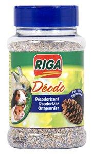 Riga Désodorisant Senteur Pin pour Rongeur Flacon de 230 g – Lot de 2