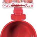Mangeoire en plastique pour rongeurs à fixer cerise diamètre 12 cm (500 ml maxi)