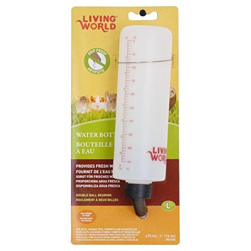 Living world Biberon en Plastique pour Cochon de l'Inde et Lapin 475 ml (graduation jusqu'à 450 ml)