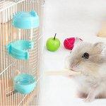 Pawaca Gourde 80 ML pour Petit Animal de Compagnie, Chien, Furet, Hamster/Cochon d'Inde/Critter Bleu 80 ML
