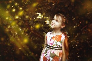 Glitter People + child
