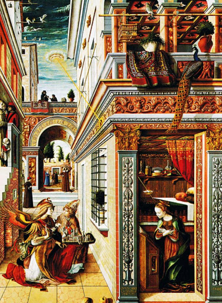 Annunciation, with Saint Emidius