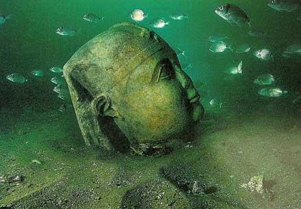 Cambay Stone Statue