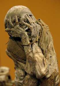 Chachapoyas mummy