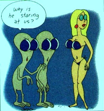 Alien cartoon