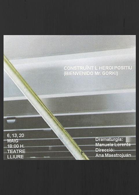 Clara Gali - Construint l'heroi - Teatre Lliure