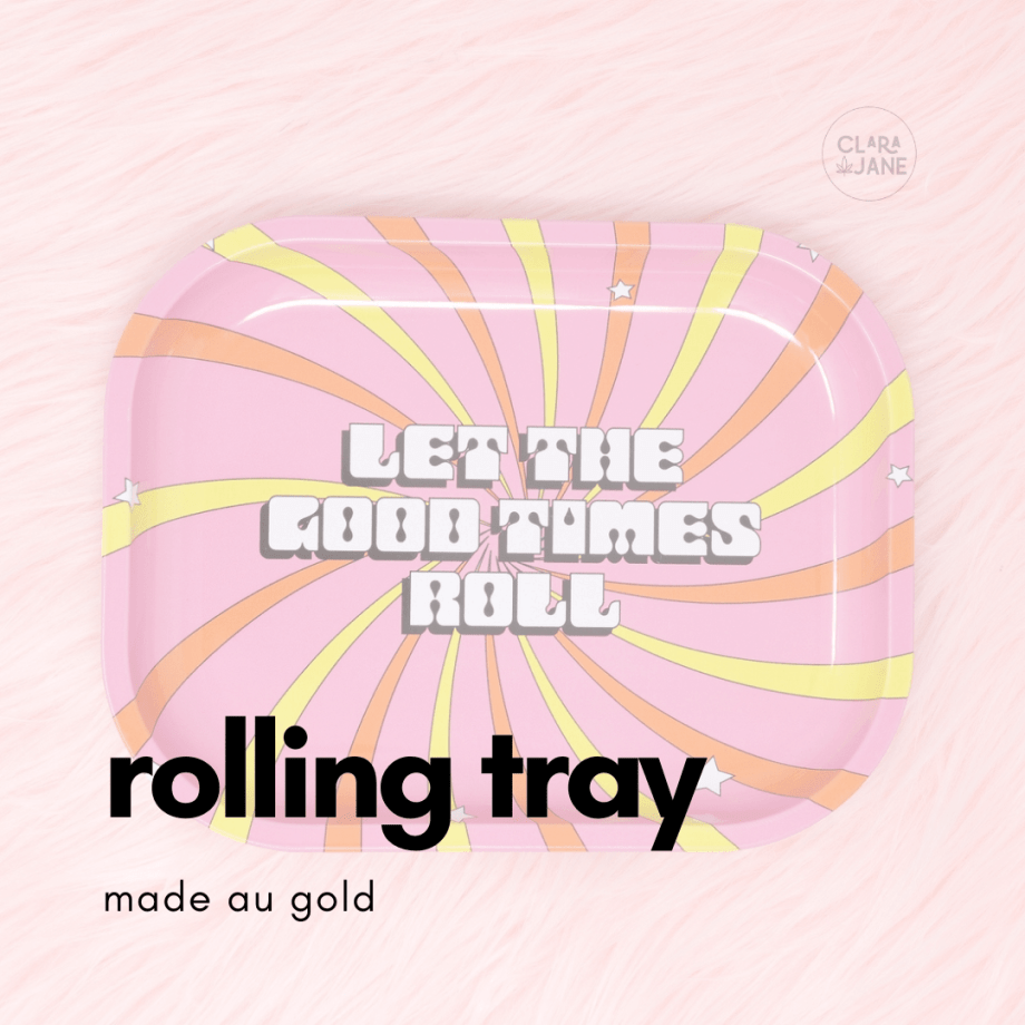 let the good times roll tray