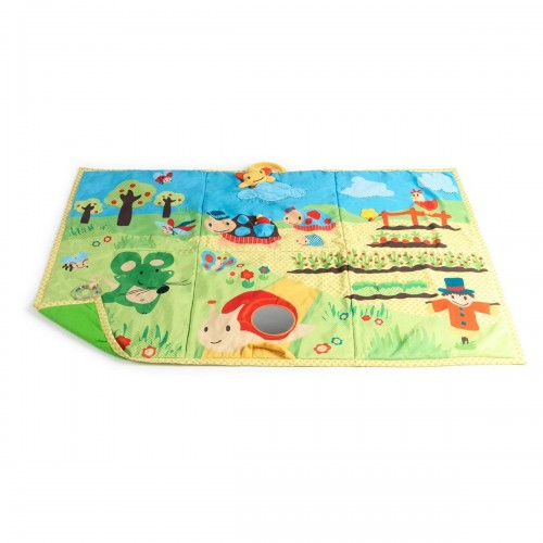 tapis d eveil geant nature multicolore baby to love 8671184800700