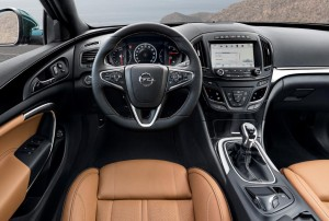 The interior of the new Insignia features IntelliLink