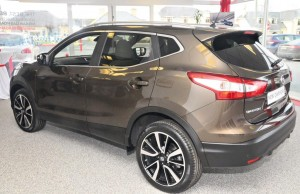 Nissan's new Qashqai made an appearance in Ennis.