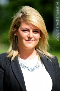 NUI Galway Graduate Niamh Baker began her internship with Horse Racing Ireland at Navan Racecourse last week.