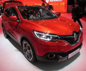 The Renault Kadjar is based on the popular Nissan Qashqai.