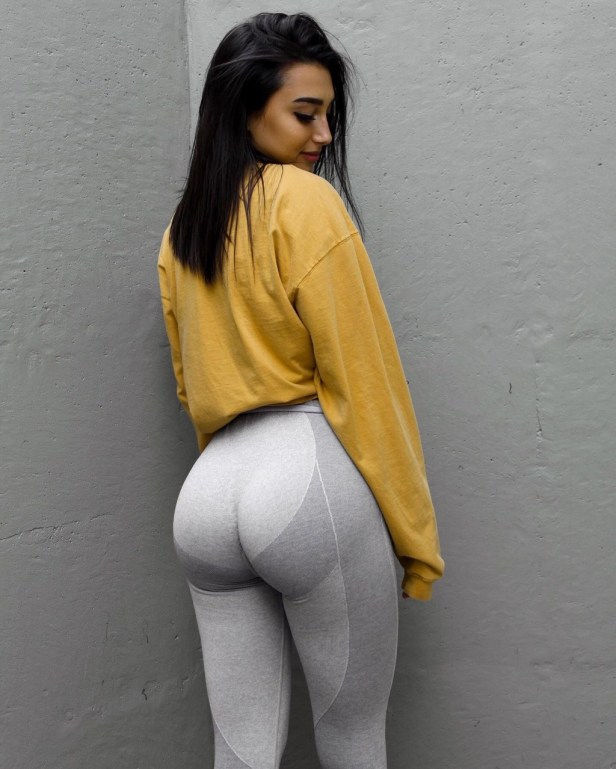 teen girls in yoga pants