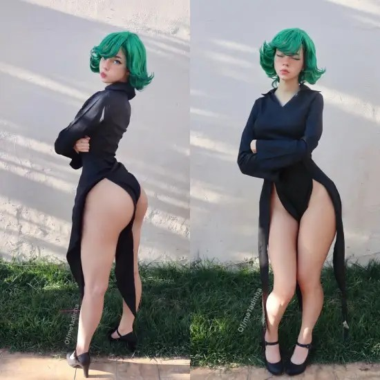 One Punch Man Cosplay Girl