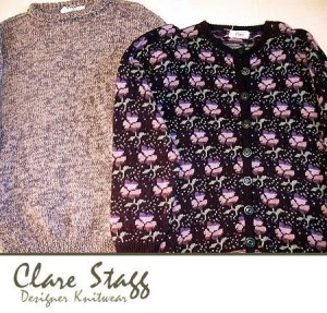 Adult Knitwear for Men or Women knitted designs by Clare Stagg