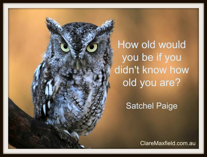 How old would you be if you didn't know how old you are