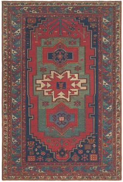 Caucasian Kazak Antique Oriental Rug - Claremont Rug Company