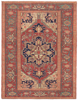Antique Carpet, Serapi