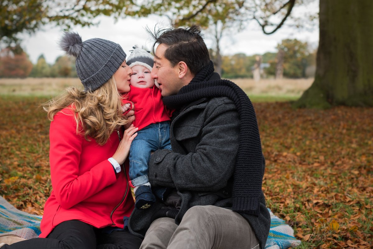 Kingston Upon Thames Family Portraits in Bushy Park with. Clare Murthy Photography