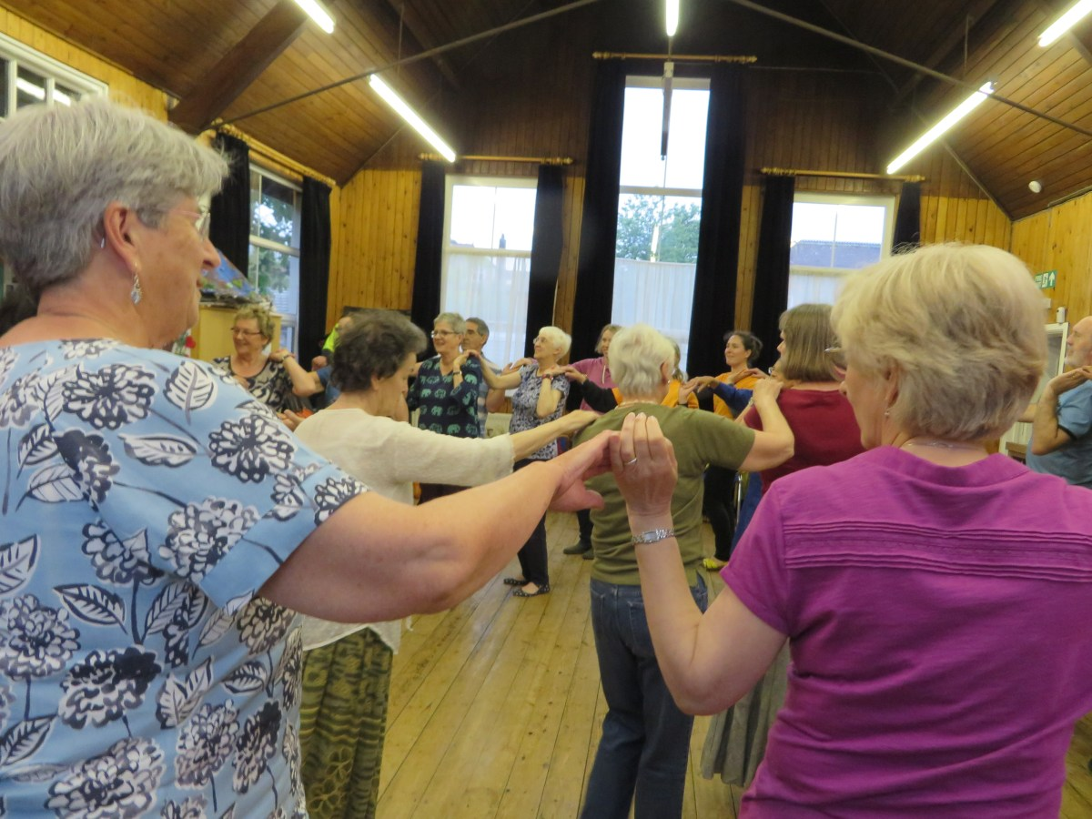 ArtBeat 2016 - Jewish Circle Dancing at the Jewish Progressive Congregation