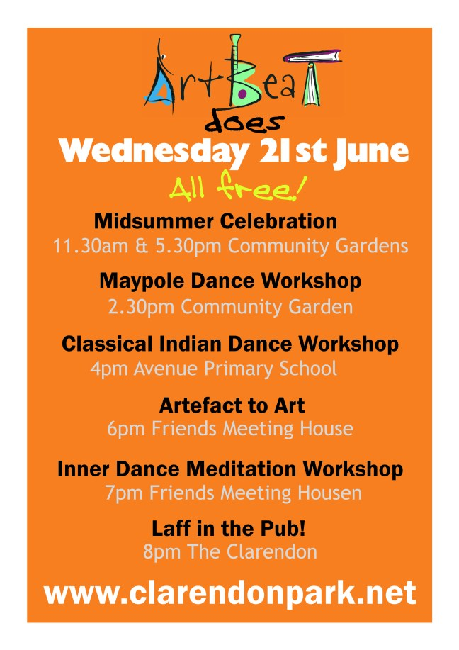 ArtBeat Wednesday 21st June