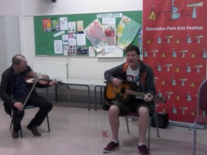 Open Mic: Paul Roberts + Greg