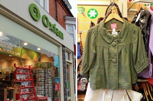 I was hugely tempted by this seriously cute cropped jacket in green tweed by Californian brand Lux - a bargain at £5.99