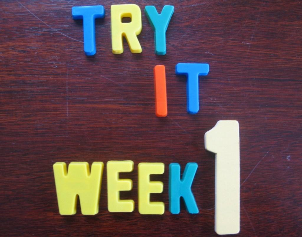 """Try It"" Challenge {Week 1}"