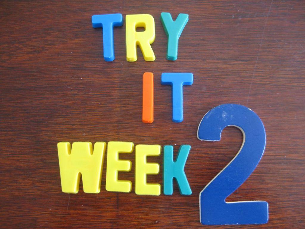"""Try It"" Challenge {Week 2}"
