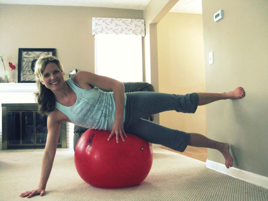 New Move Monday: Inner Thigh Lift on Exercise Ball