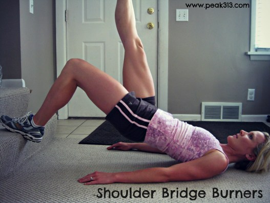 Shoulder Bridge Burners: claresmith.me