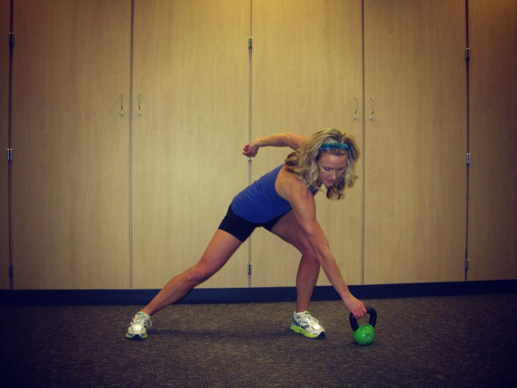 New Move Monday: Kettlebell Cardio & Balance:Pick up & Put Away