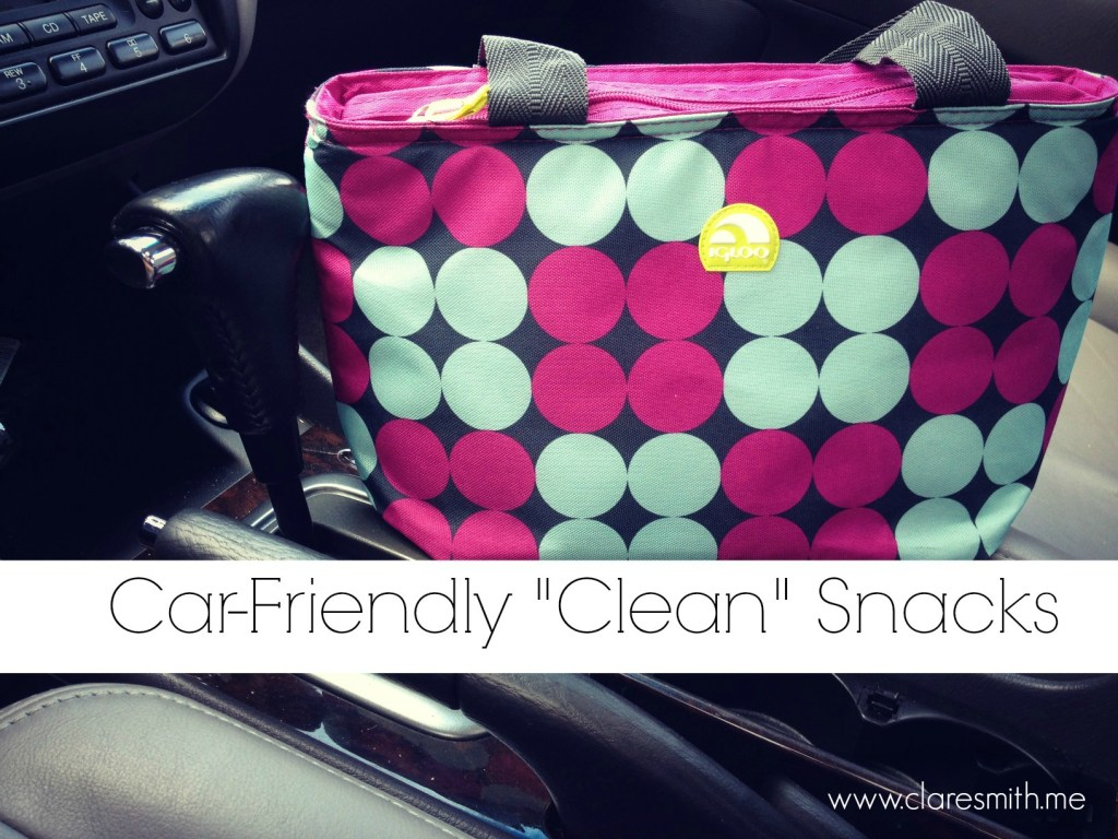 """Car-Friendly """"Clean"""" Snacks!"""